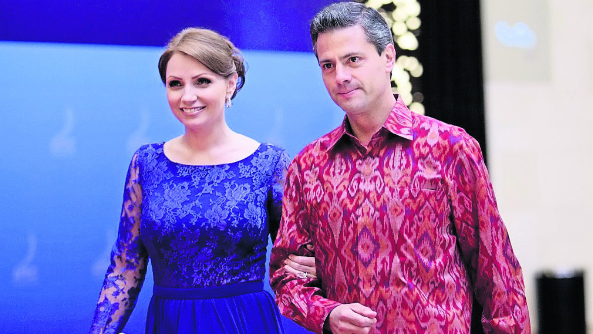 Revelan que matrimonio entre Angélica Rivera y Enrique Peña Nieto sólo fue fachada