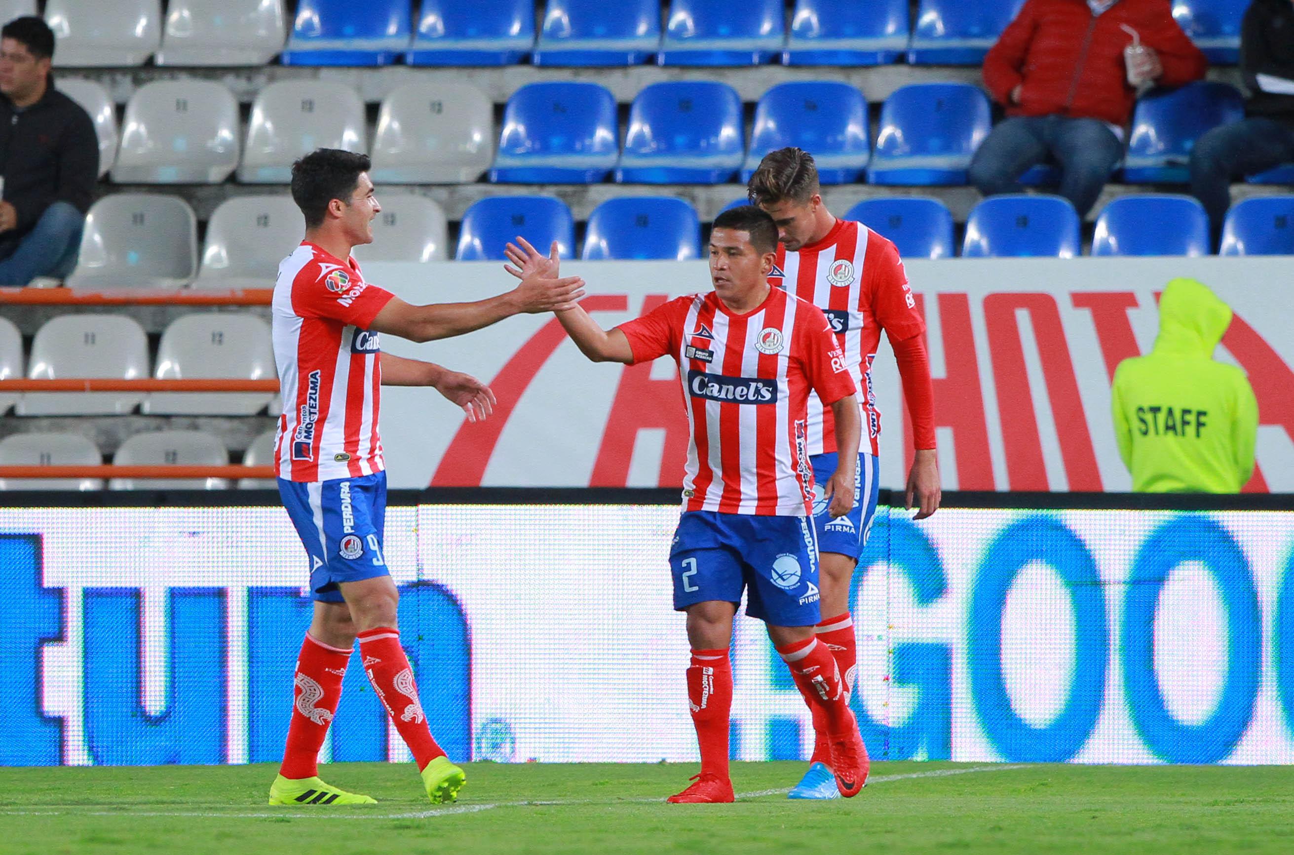 Atlético de San Luis sorprende y vence a Pachuca