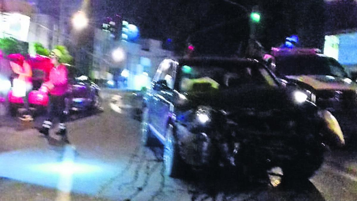 carambola choque daños vehiculos cuernavaca