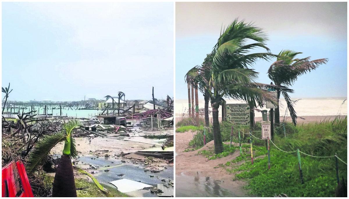 huracán dorian víctimas muertos cinco personas tragedia Bahamas
