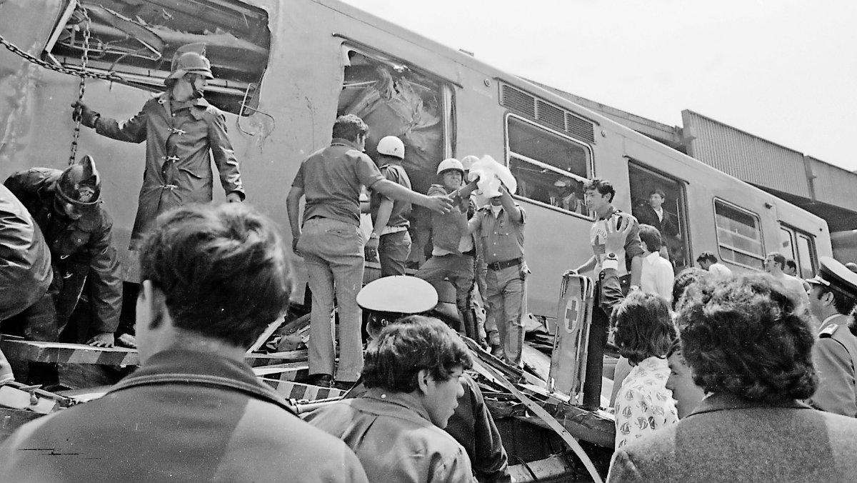 metro accidentes aniversario vagones 50 años