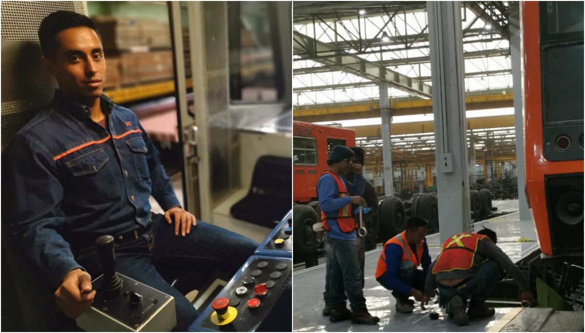 taller vías zaragoza metro trabajadores ingeniero encargado trabajadores mantenimiento stc metro cdmx