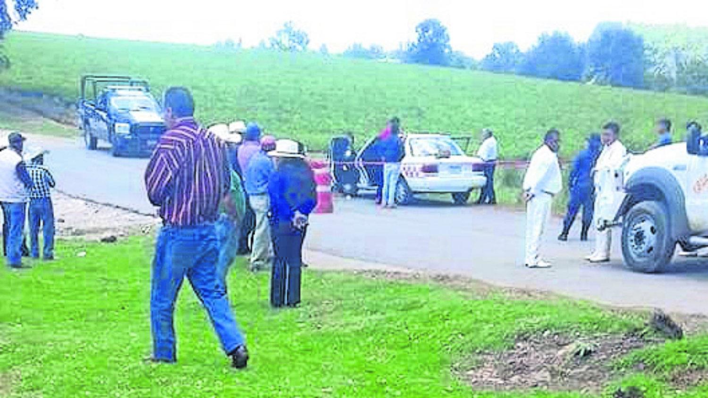Taxista asesinado balazo en cabeza