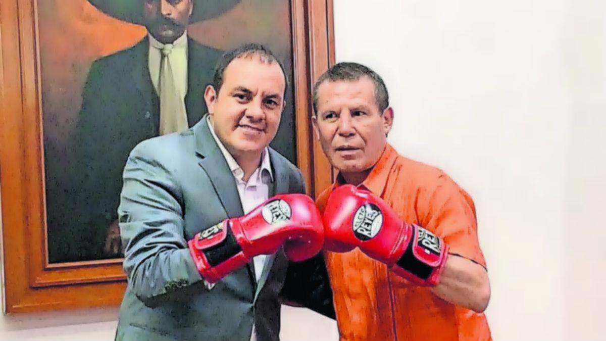 Cuauhtémoc Blanco se reúne con Julio César Chávez lo usa de ejemplo para los jóvenes