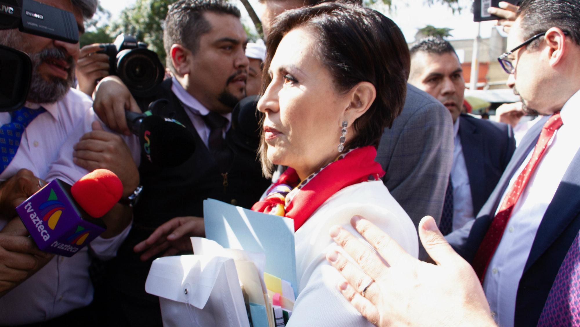 Rosario Robles se queda sin abogado tras precaria situación económica