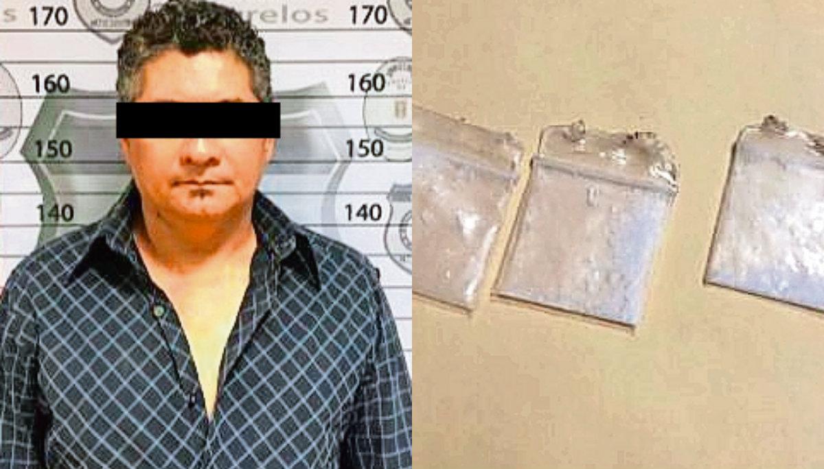 detenido cocaina cuernavaca morelos pericazo