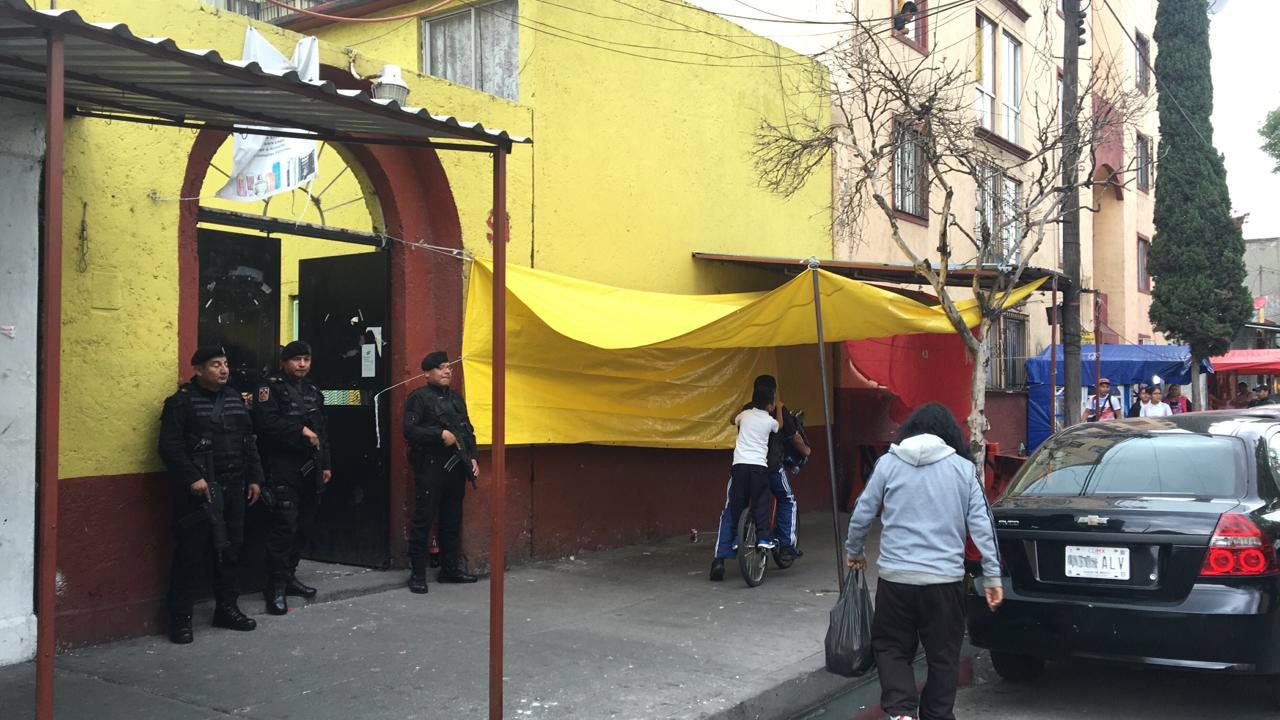 cateo drogas union tepito ciudad de mexico operativo