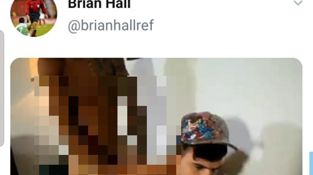 Árbitro comparte video porno gay en Twitter
