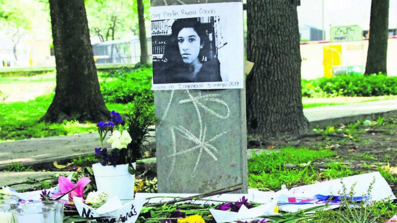 feminicidio lesvy rivera orozco unam caseta telefonica videos ultimas horas