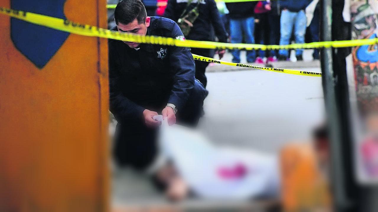 pasajero salta camioneta asalto ladrones Naucalpan