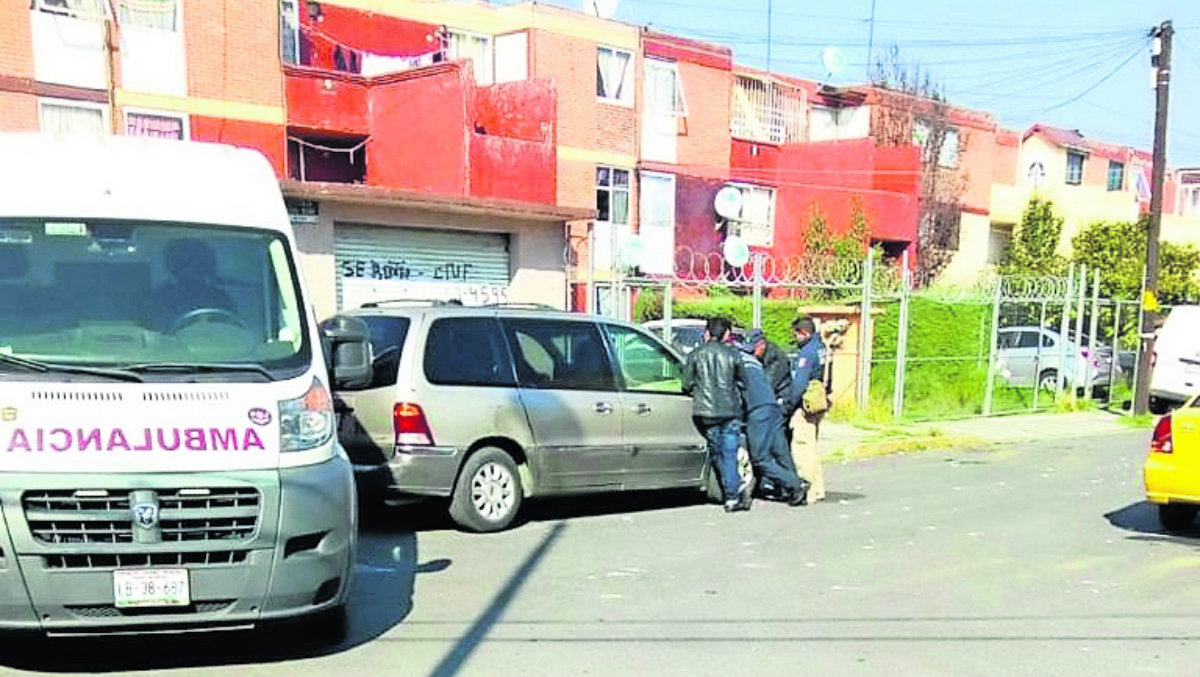 discusión pistoleros echan bala Metepec