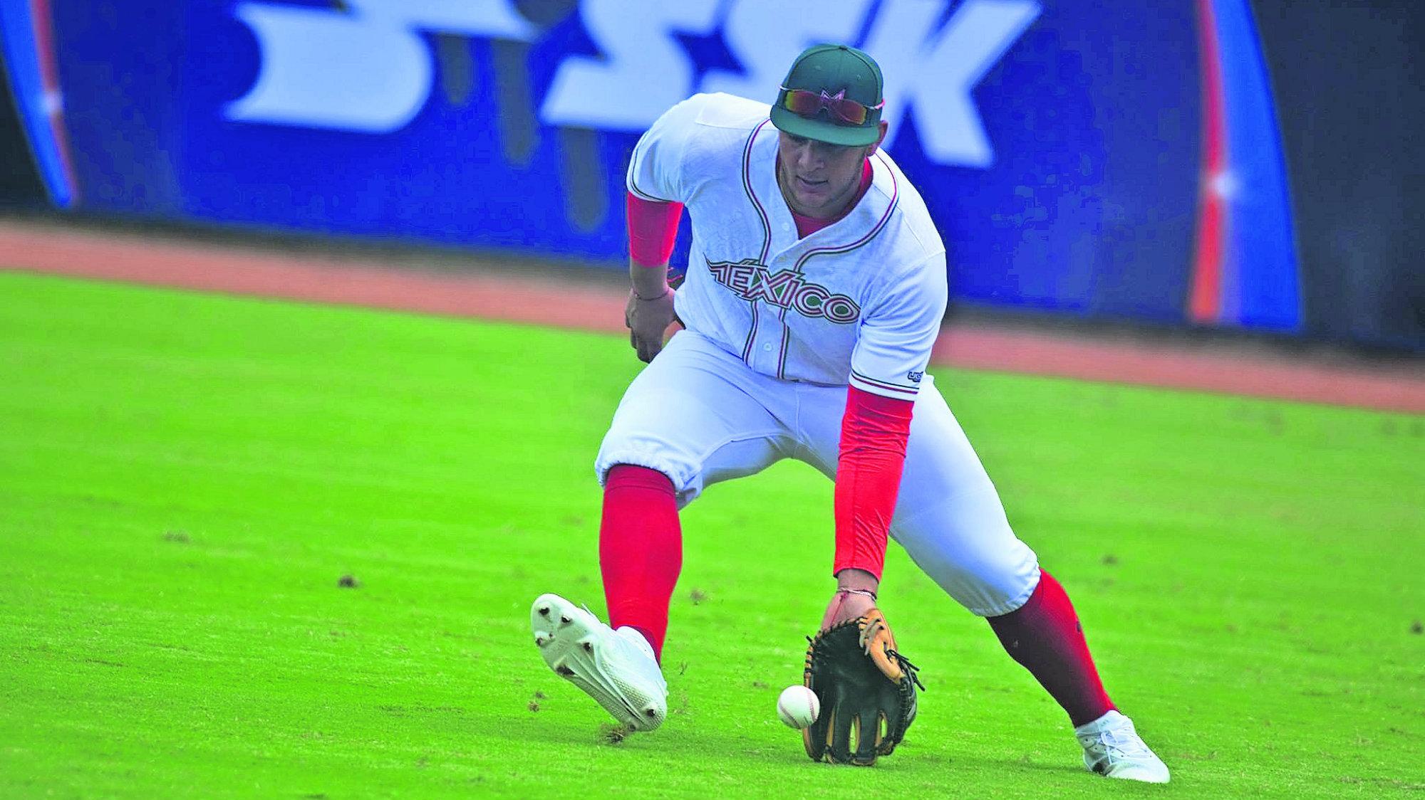 Selección Mexicana Beisbol vs Venezuela