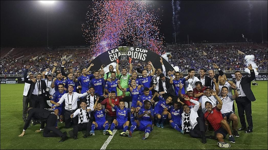 El Napoli envía mensaje a Cruz Azul tras ganar la Leagues Cup