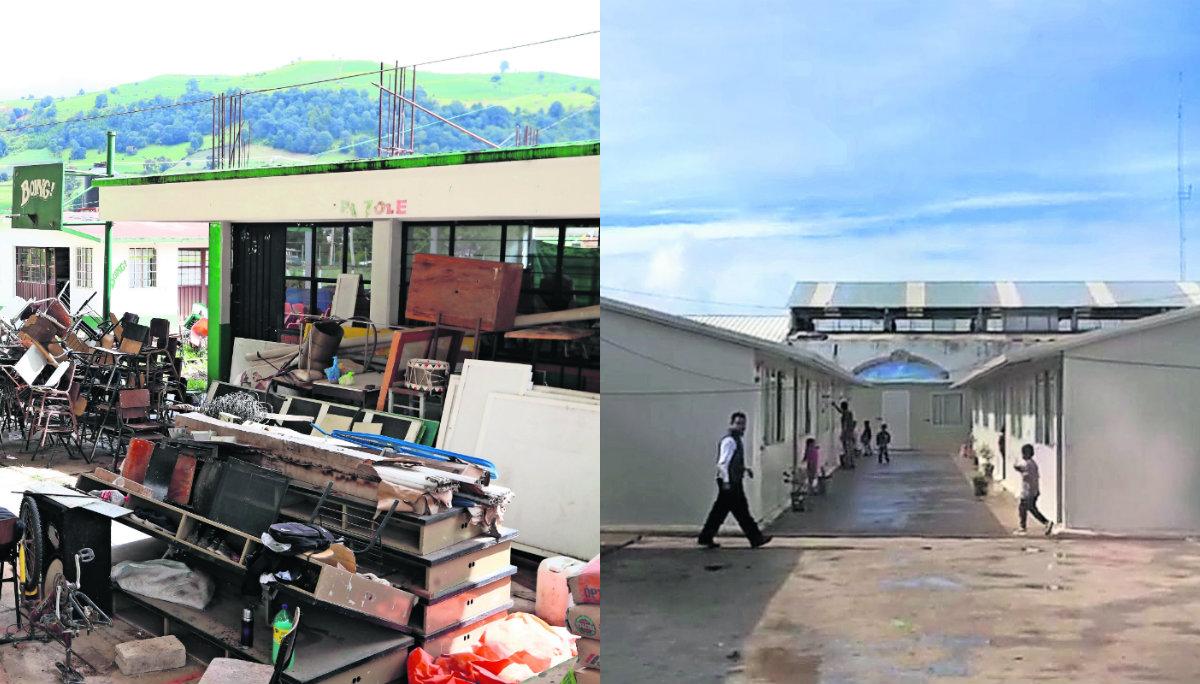 escuelas ruinas Edomex daños 19-S fondos