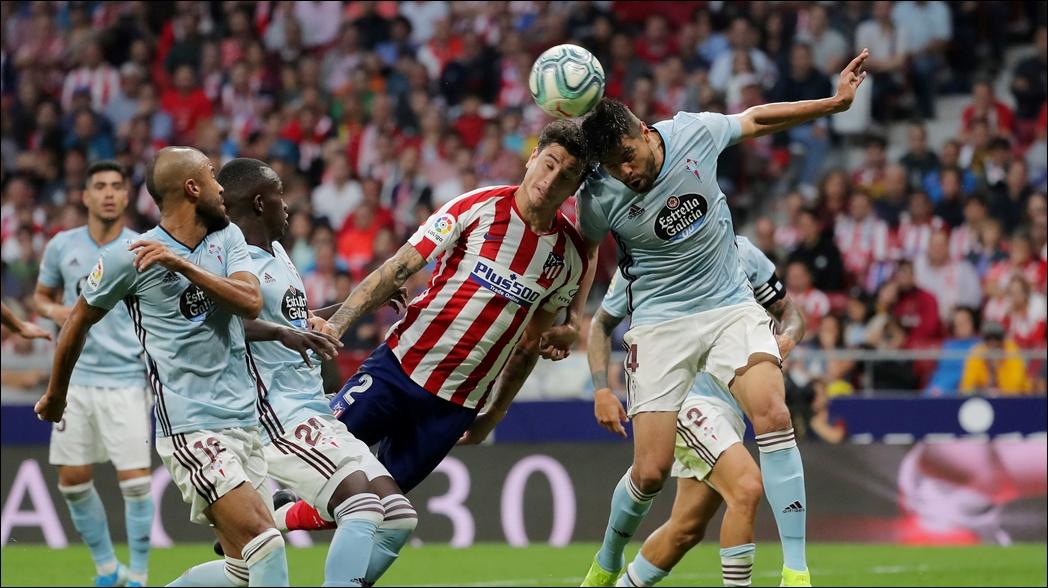 Atlético empata sin goles ante el Celta