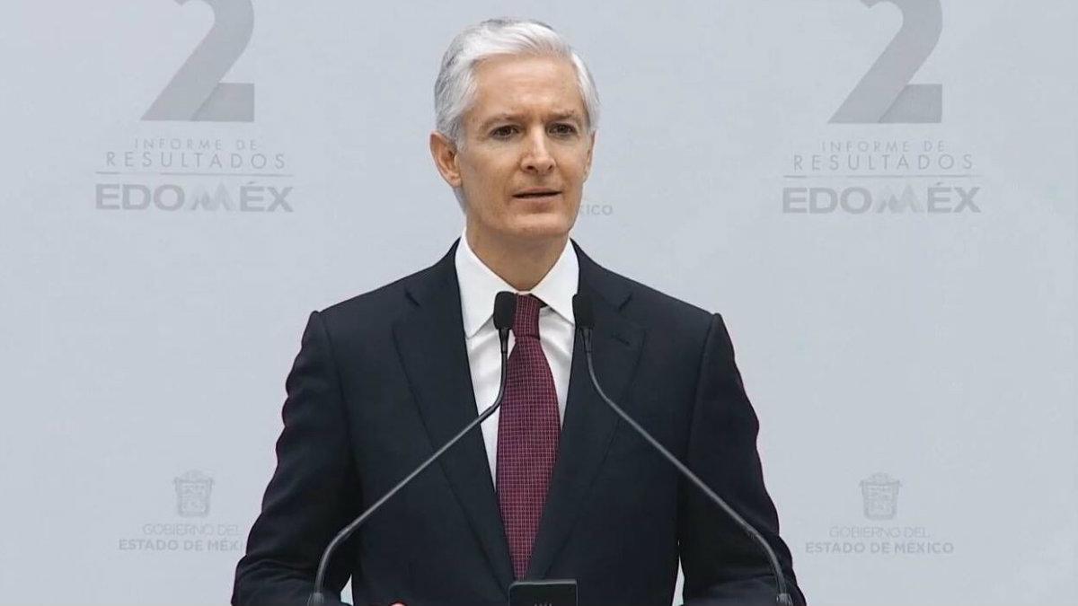 alfredo del mazo maza segundo informe de gobierno resultados gobernador estado de México