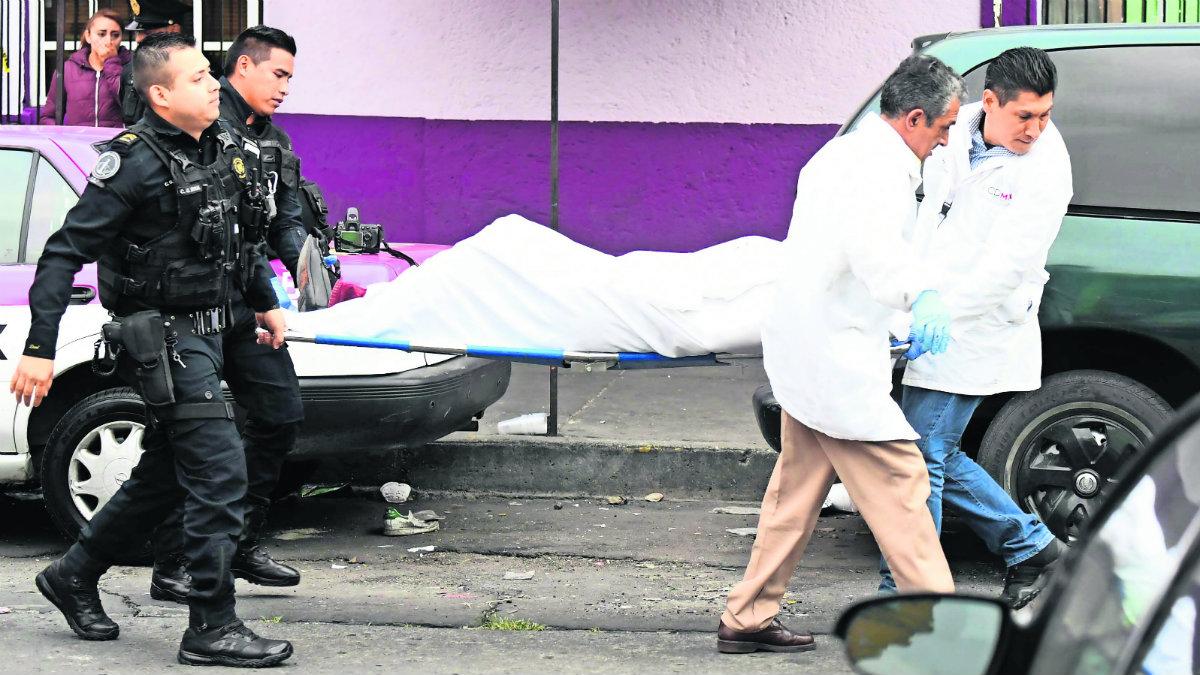El Gráfico, noticias, la roja, nota roja, asesinato, balacera, matam ex policía, 16 balazos, barrio bravo, tepito, cdmx, México