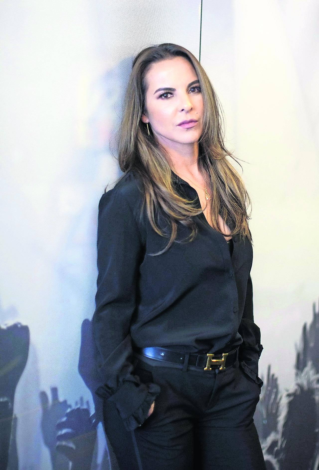 Periodista Kate del Castillo amor encabrita