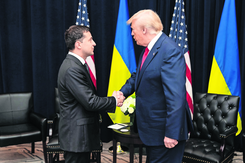 Llamada Donald Trump Volodimir Zelenski