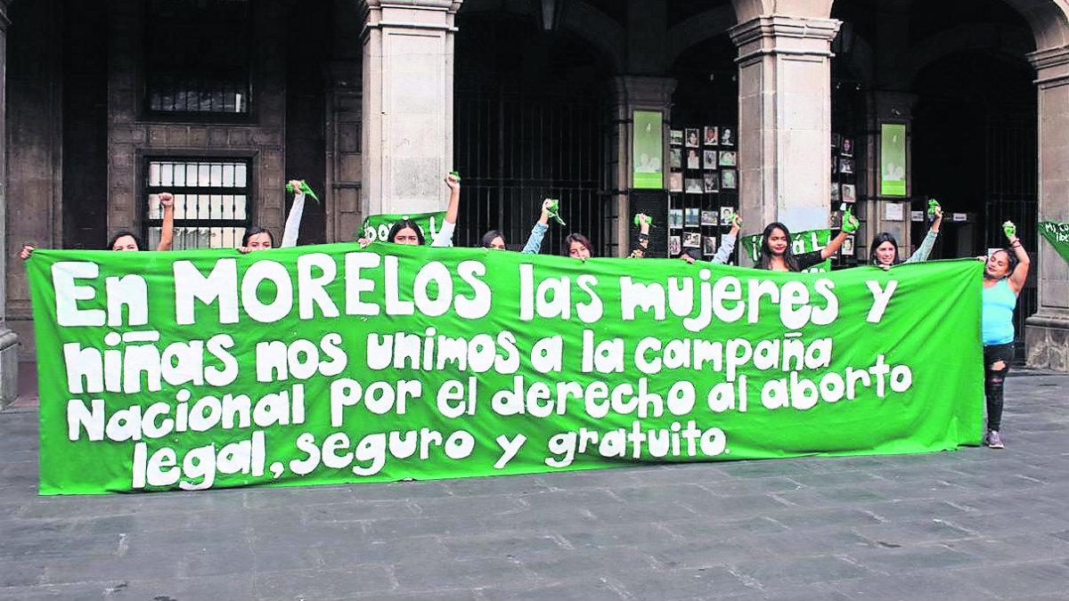 derecho al aborto en Morelos