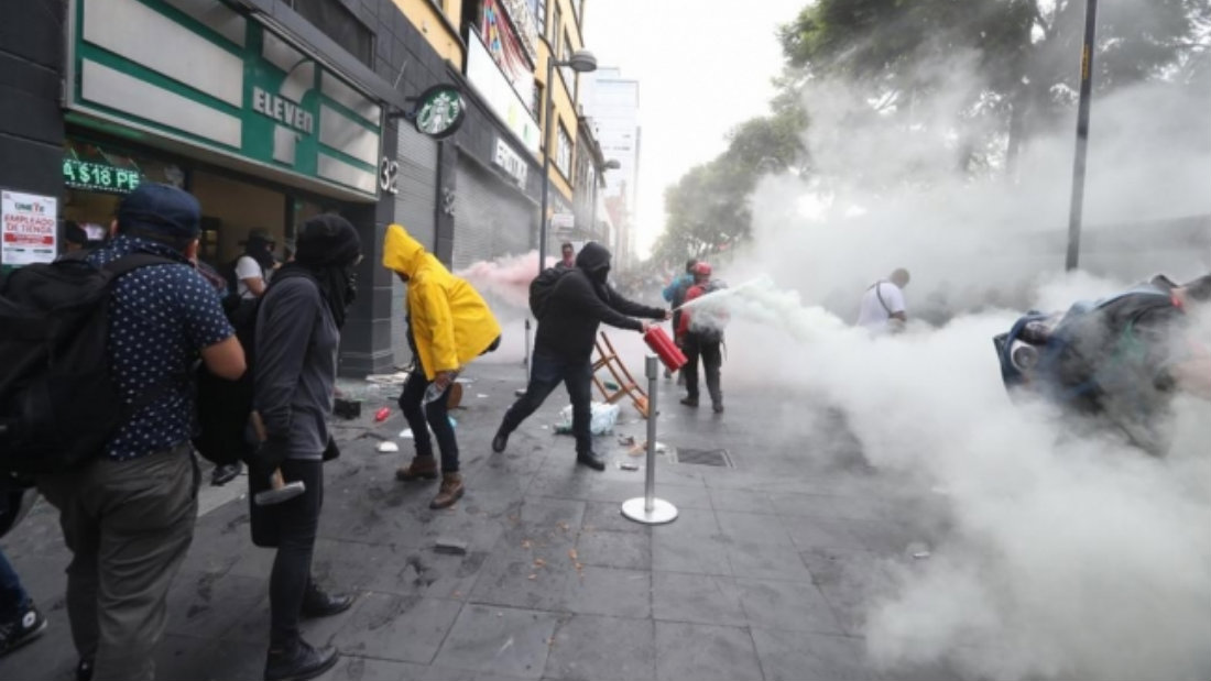 vandalismo anarquismo amlo