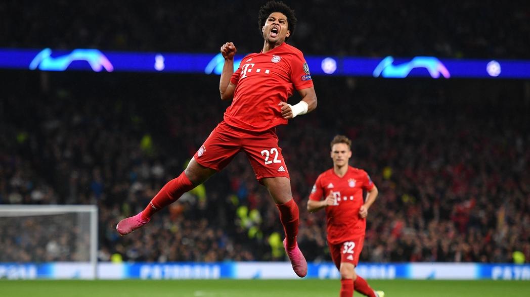 Bayern Munich humilla al Tottenham en Champions