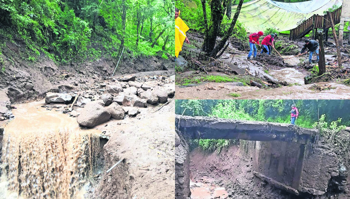 Comunidades Edomex deslaves sin agua