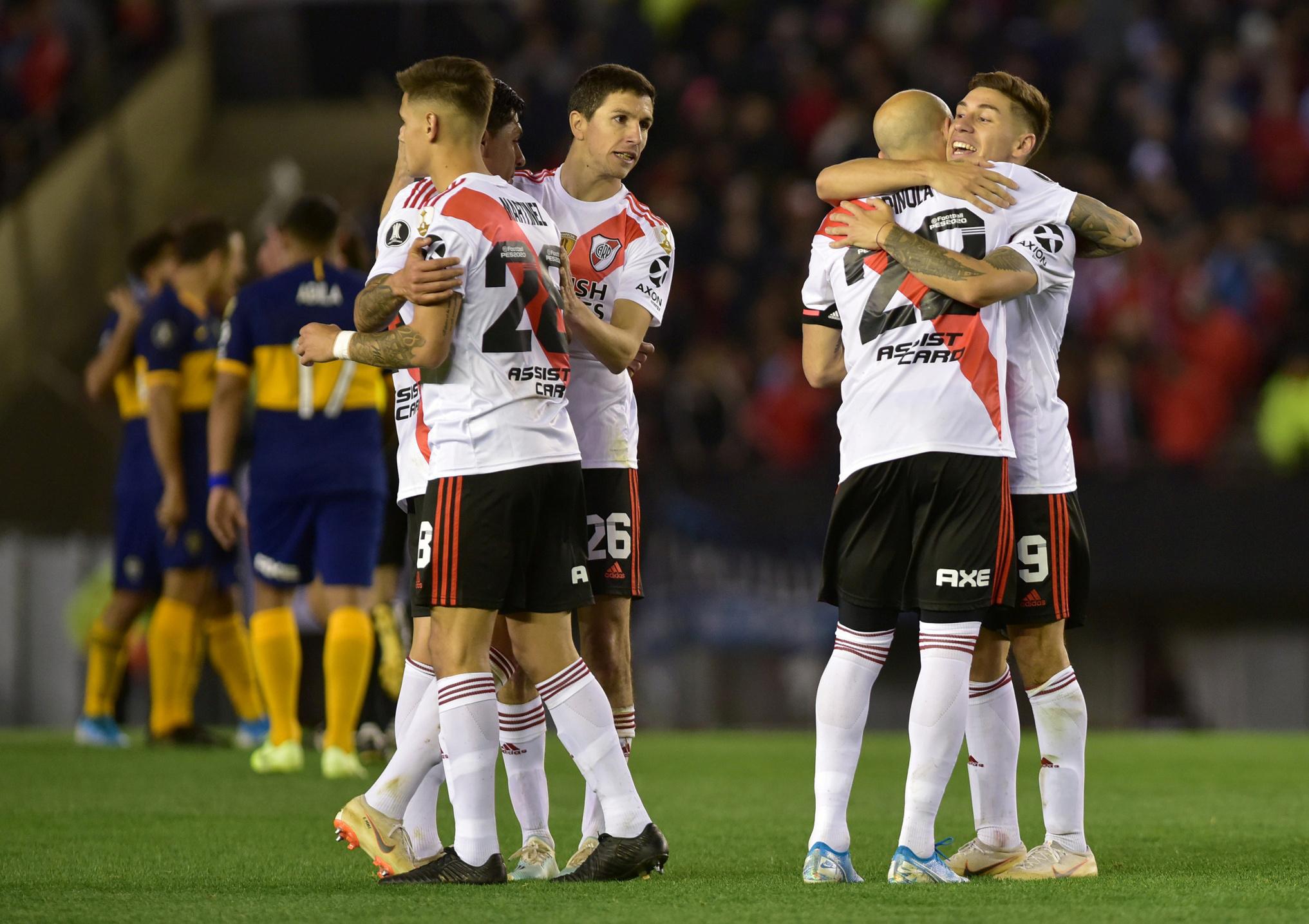 River Plate vence a Boca Juniors en la semifinal de Copa Libertadores