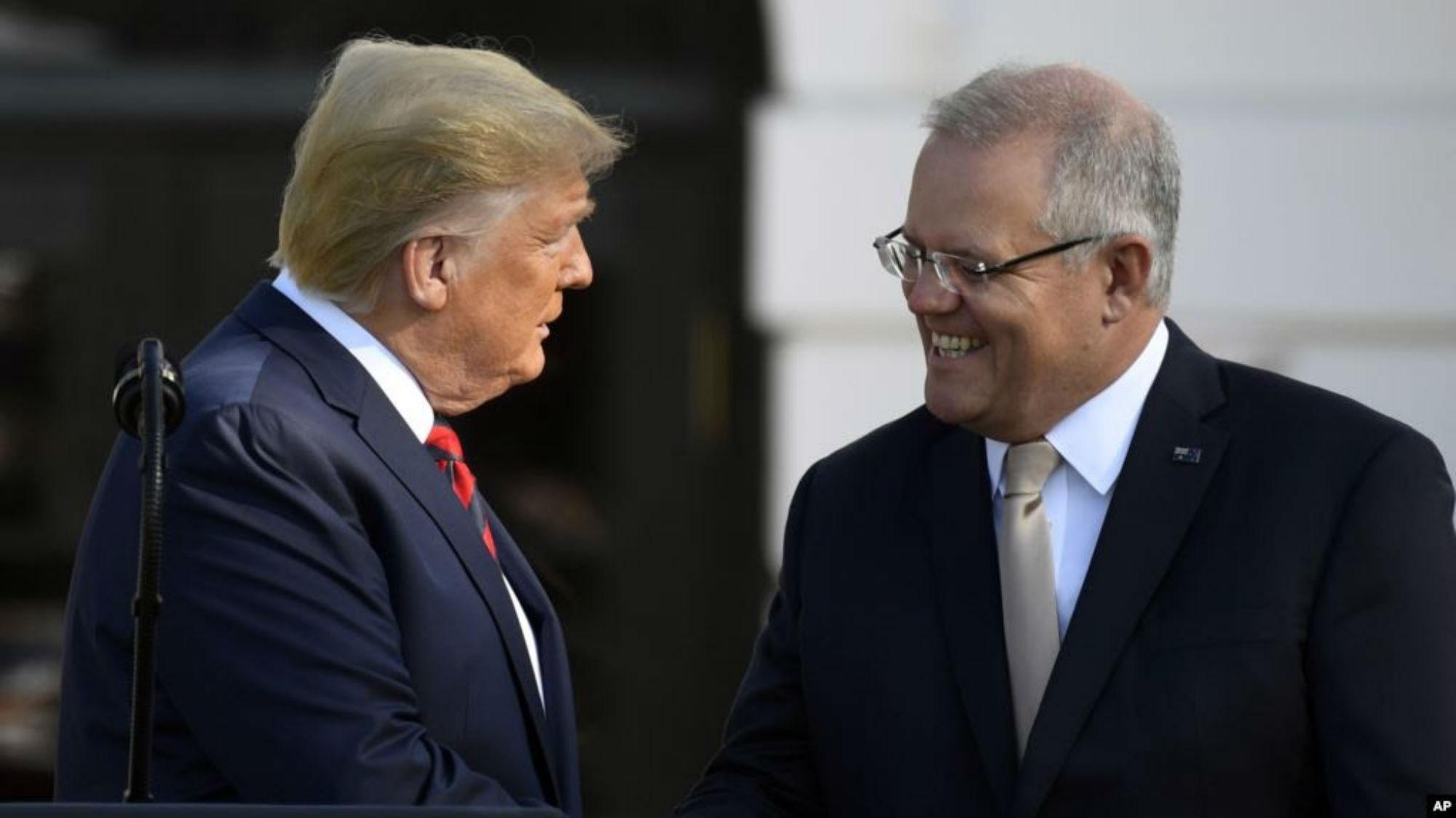 Donald Trump Australia trama rusa