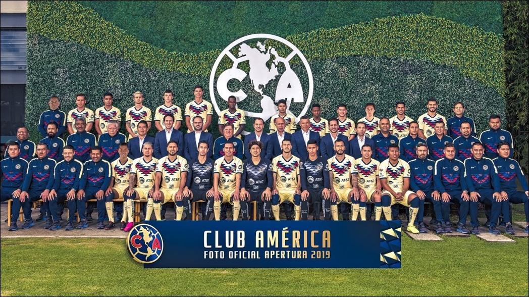 América hace 'montaje' de Giovani dos Santos en su foto oficial