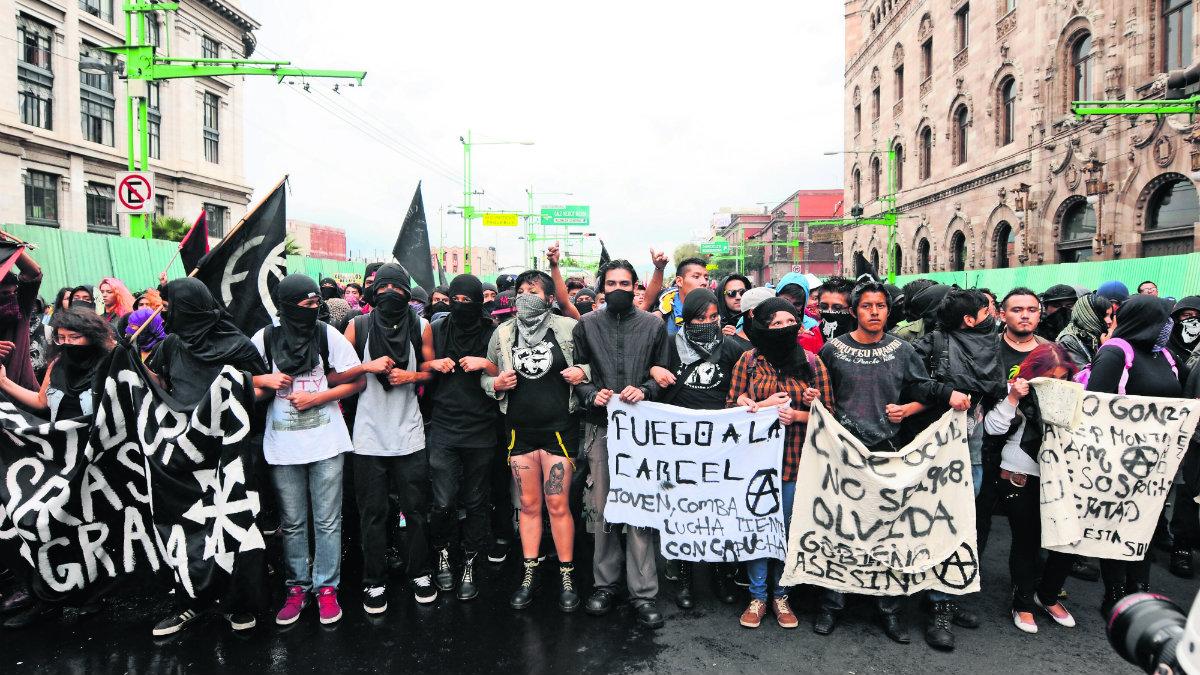 Anarquista universitario Ciudad Universitaria