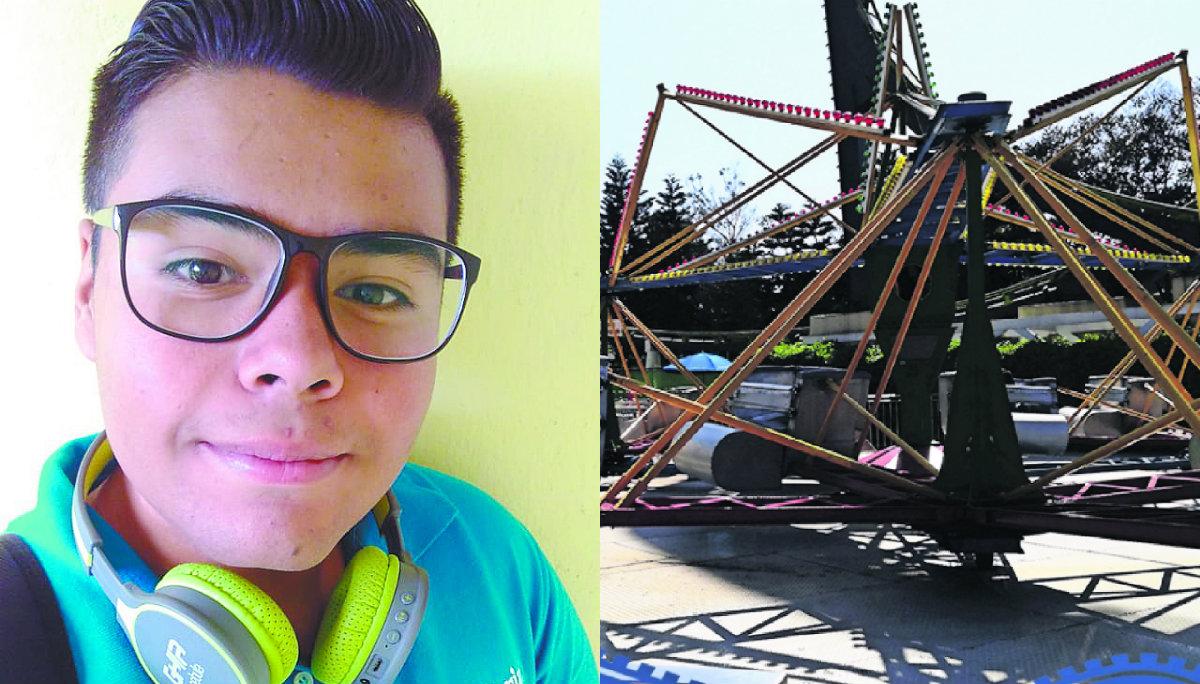 Trabajador Feria de Chapultepec accidente 2018