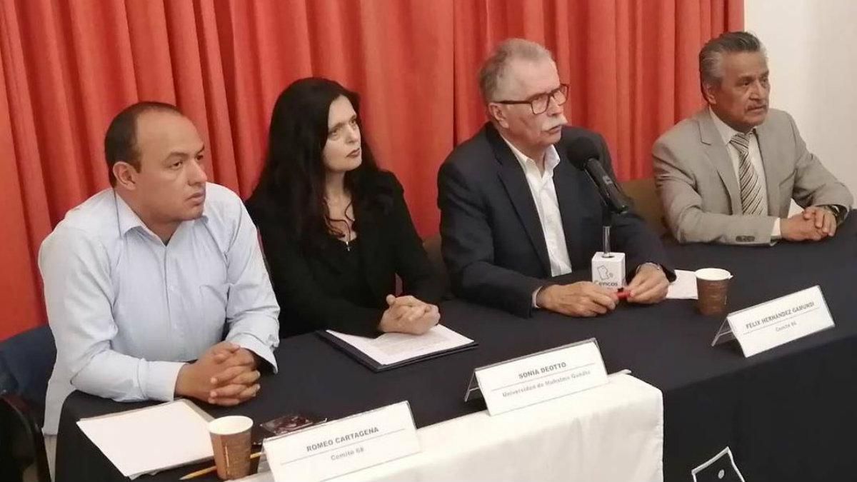 comité del 68 piden marcha pacífica matanza tlatelolco plaza de las tres culturas sin violencia 2 de octubre