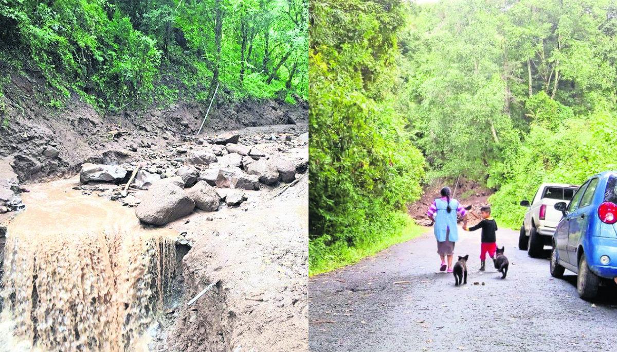 Deslaves Edomex daños puentes