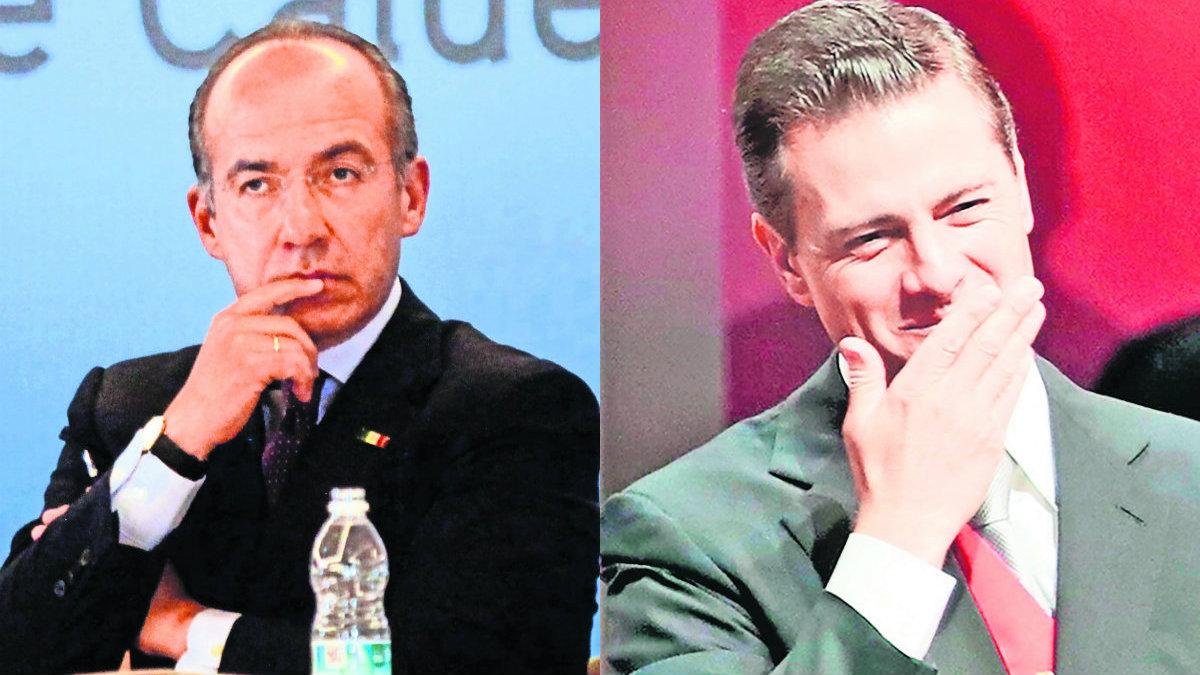Deudores fiscales Enrique Peña Nieto Felipe Calderón