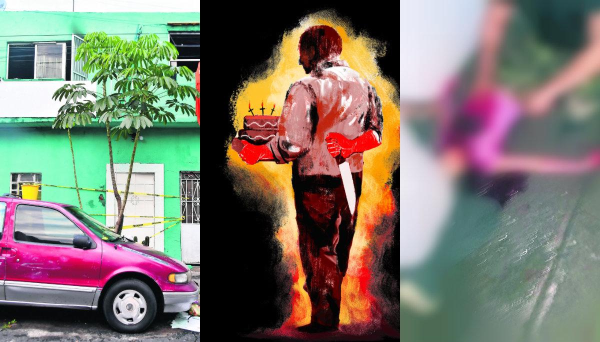 hombre acuchilla hijos venganza ciudad de mexico masacre intenta quemarlos