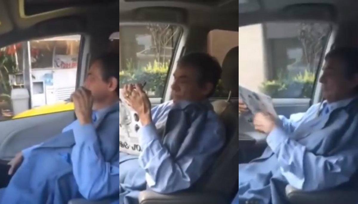 Revelan video inédito de José José rumbo al hospital; habría tomado Uber