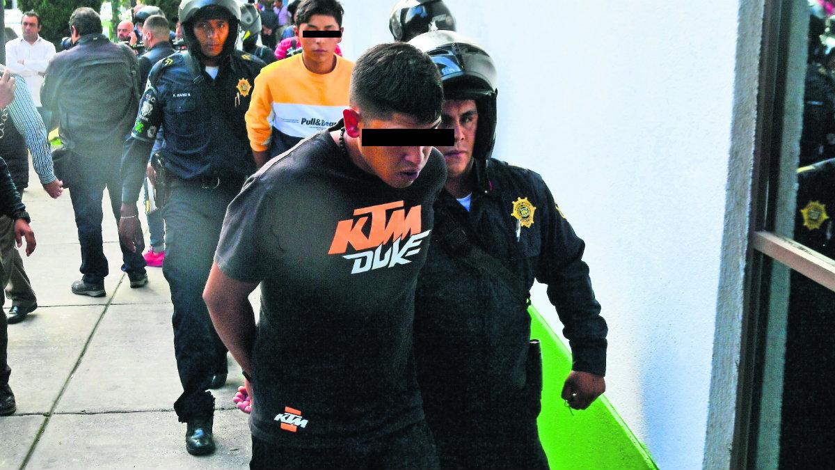 Detenidos Álvaro Obregón asaltantes automovilistas
