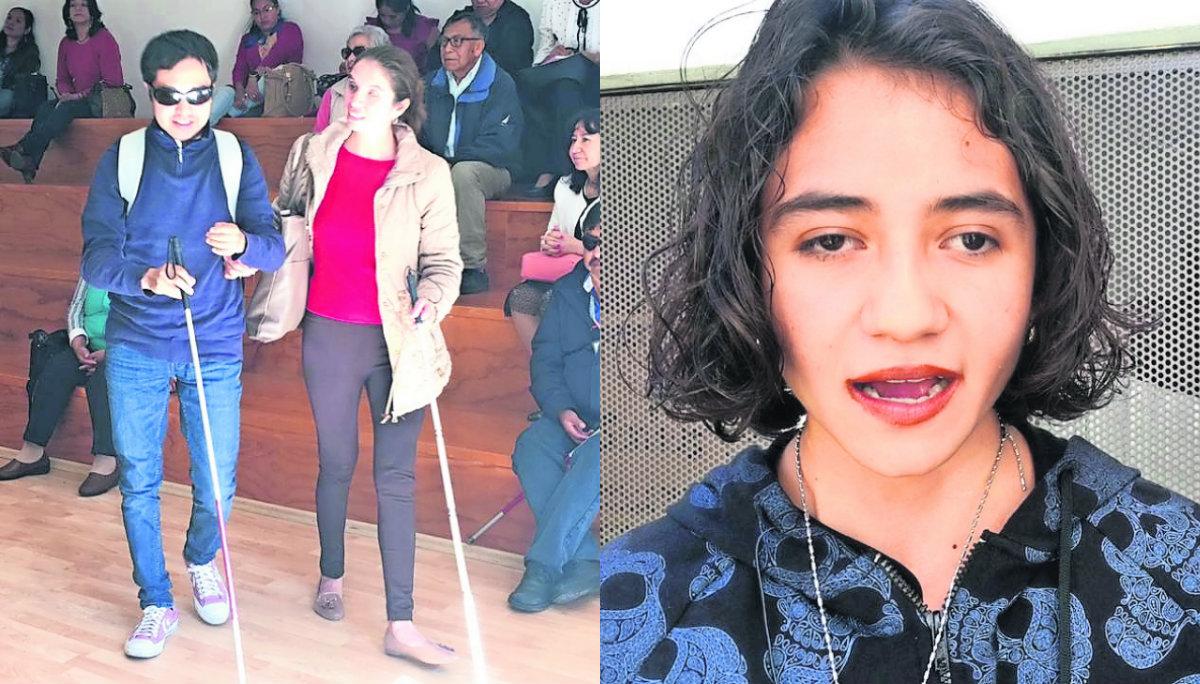 Estudiantes UAEM conferencias ciencia discapacidad