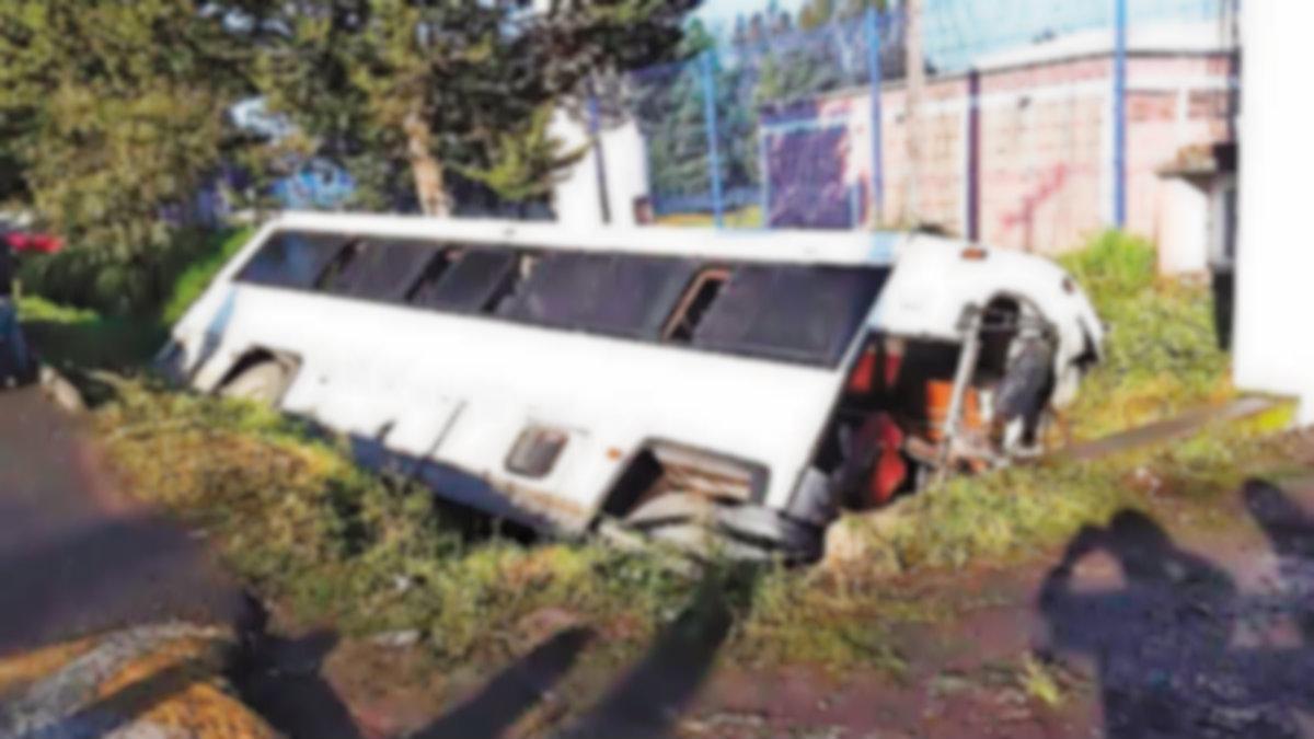 accidente alumnos canal aguas negras edomex heridos