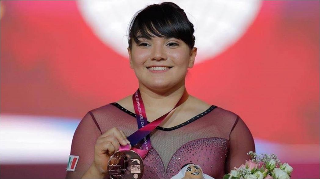 Alexa Moreno tras conseguir la plaza olímpica