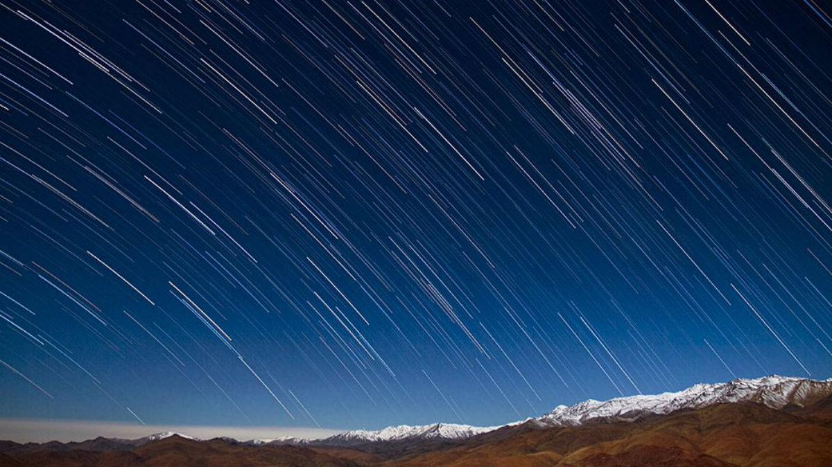 Lluvia estrellas Dracónidas