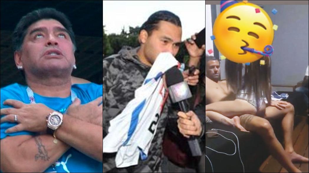 Futbolistas que han caído en el alcohol, drogas y fiestas