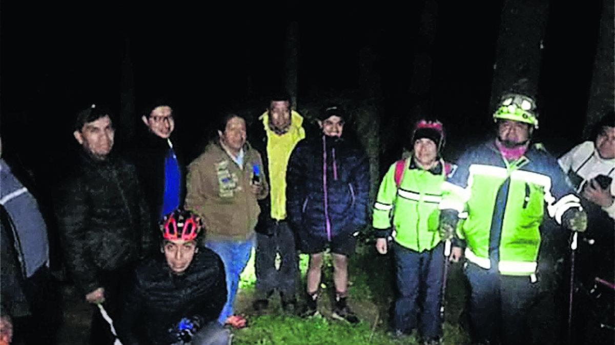 logran rescatar a Octavio en Nevado de Toluca edomex