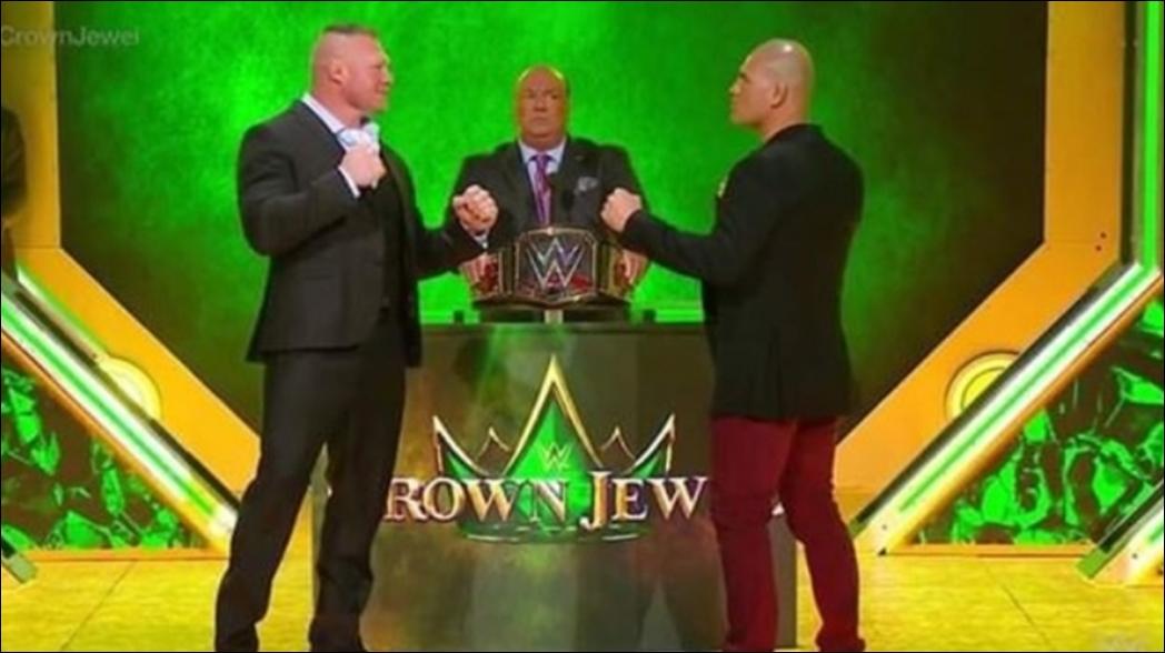 Caín Velásquez firma con WWE para enfrentar a Brock Lesnar