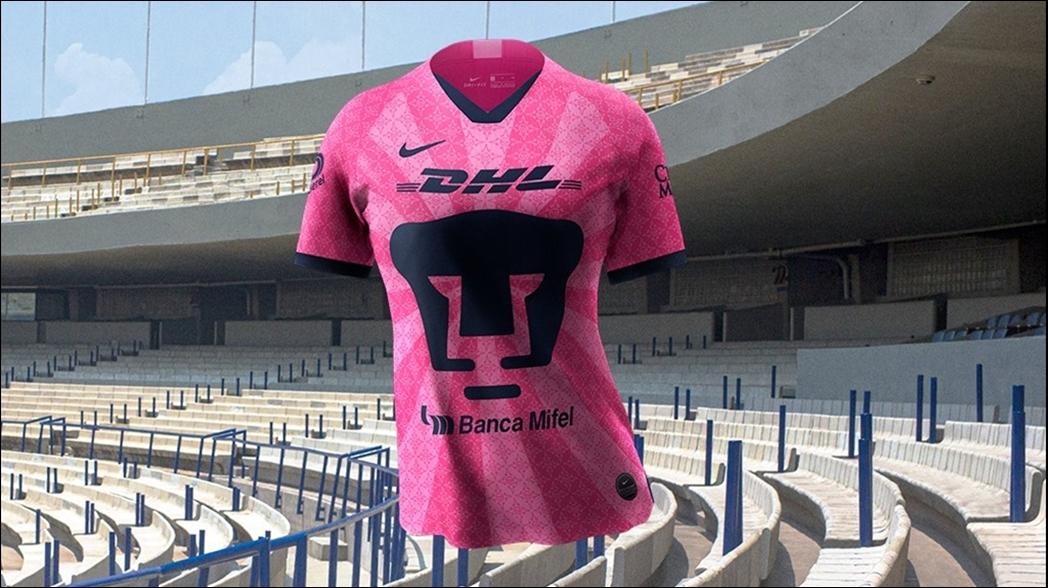 Pumas se une a la campaña de la lucha contra el cáncer de mama