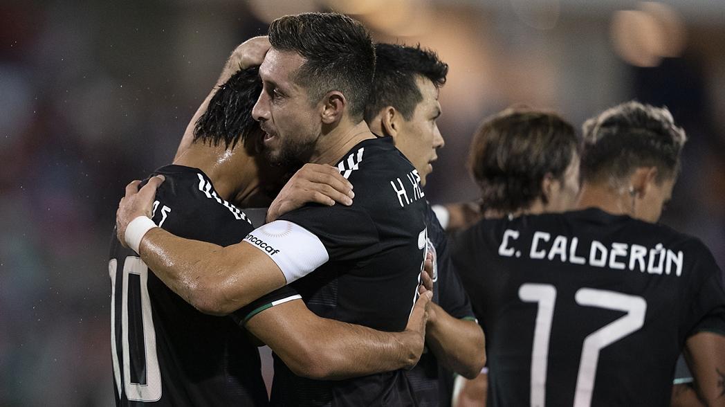 México aplasta a Bermudas en la Liga de Naciones