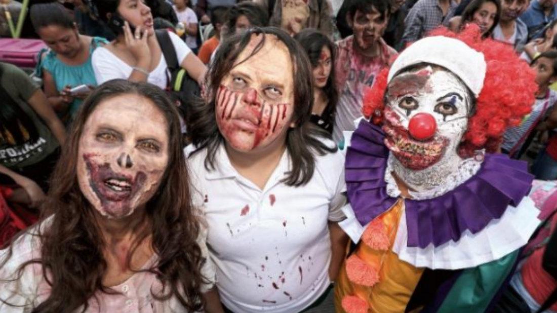zombies cdmx marcha