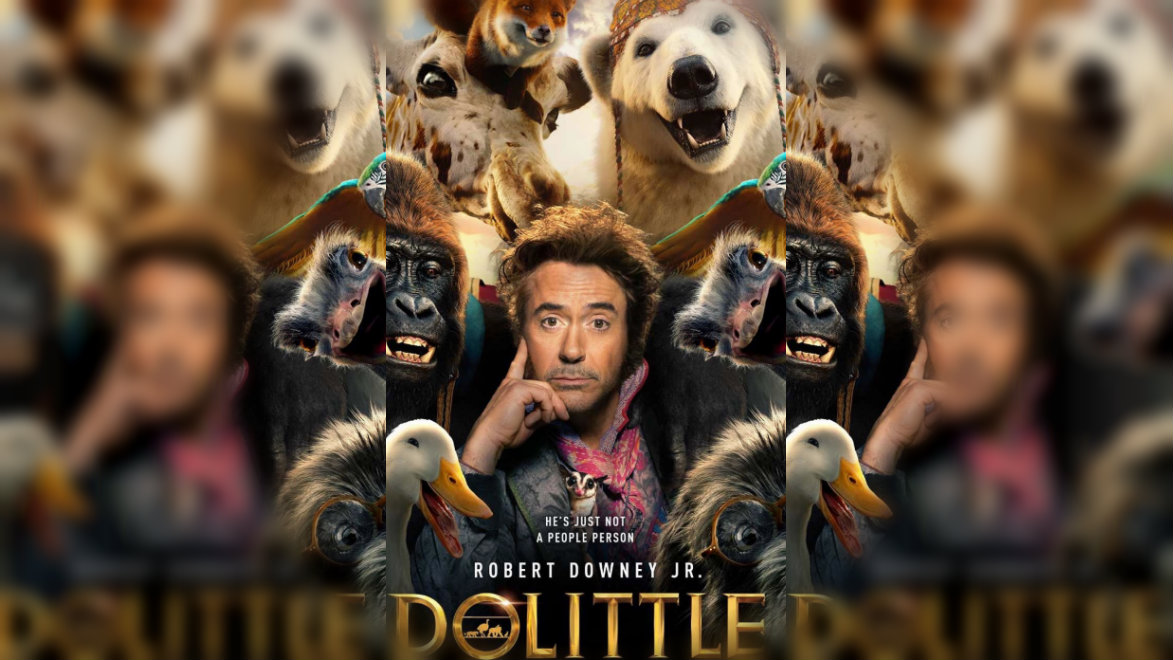 dr dolittle downey iron man