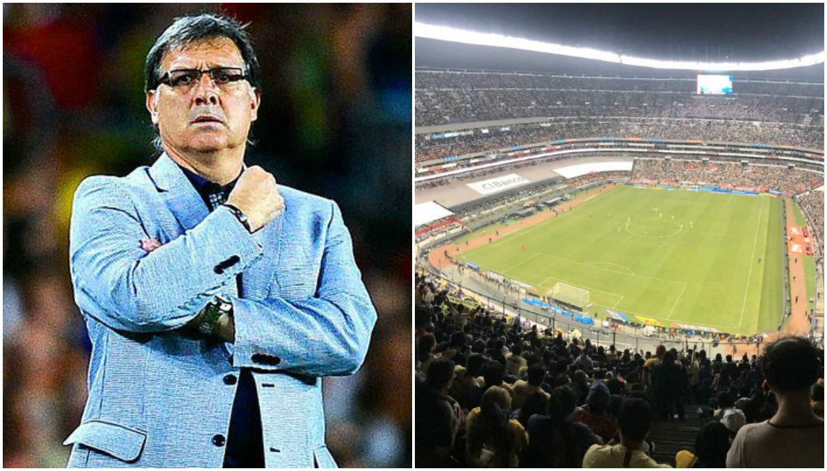 gerardo martino tata martino director selección mexicana estadio azteca